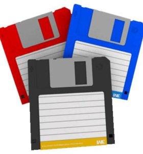 Продам дискеты 3.5 / 1.44 MB / 2 HD б/у