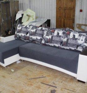 Угловой диван Ситиус
