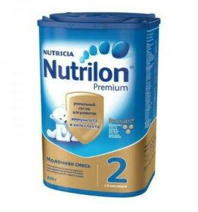 Молочная смесь Nutrilon Premium 2 (800 г)