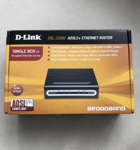 Модемы D-Link DSL-2500U