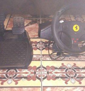 Руль и педали для игр на компе