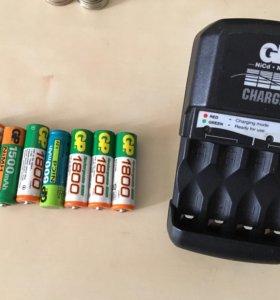 Зарядное устройство для батареек AA