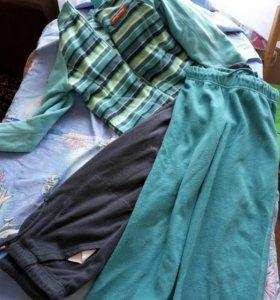 Флисовые костюм