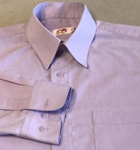 Рубашка для мальчика школьная, р.33, рост 146-152