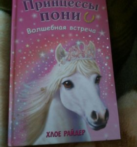 Книга Принцесса Пони Волшебная встреча