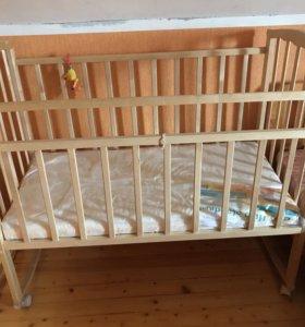 Детская кроватка Агат Золушка-1