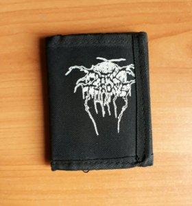 """Кошелек матерчатый """"Darkthrone""""   рок   метал"""