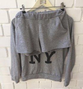 Комплект шорты+кофта