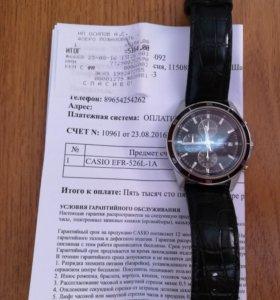 Наручные часы фирмы Casio