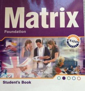 Matrix учебник и рабочая тетрадь