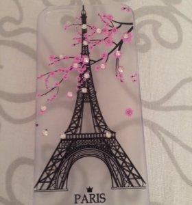 Чехол пластиковый на айфон 5, 5s