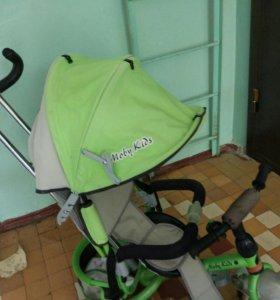 Детская коляска велосипед