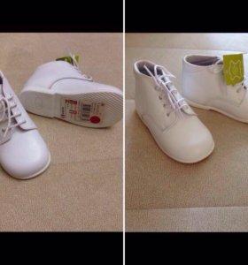 Кожаные батиночки