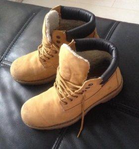 Зимние ботинки 44-45 р