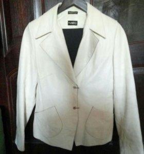кожаный пиджак punto