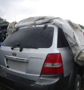 Kia sorento 1 рестайлинг крышка багажника