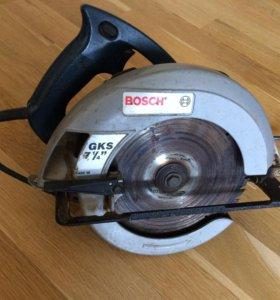 Дисковая пила Bosch GKS 0 601 572 260 made in USA