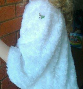 новогодняя накидка детская для девочки