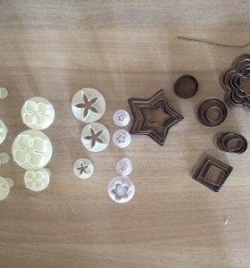 Каттеры и формы (глина, выпечка)