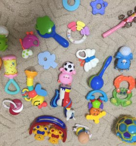 ‼️Погремушки и развивающие игрушки