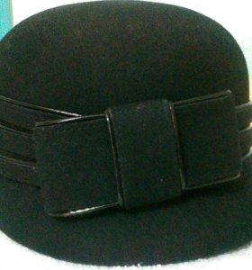 Новая фетровая шапка р.58