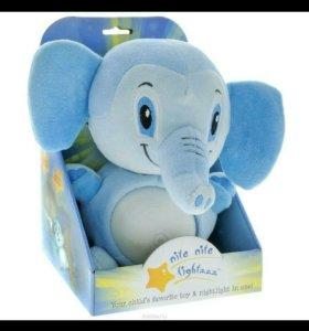 Ночник детский Nite Nite Lightzzz Слон «Оливер»