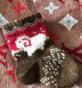 Продам новые шерстяные носки