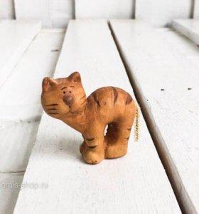 Глиняный котик