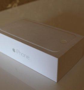 Коробка от iPhone 6 64Gb Silver
