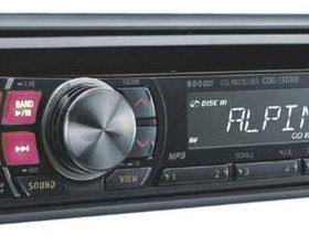 Alpine CDE-130RR MP3/CD/USB новый гарантия