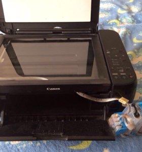 Цветной принтер и сканер