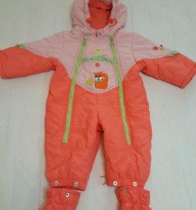Продам детский комбинезон осень-весна для девочки