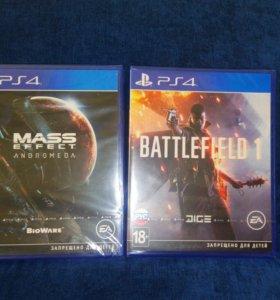 Battlefield 1 и Andromeda