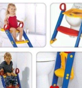 Детская подставка-туалет