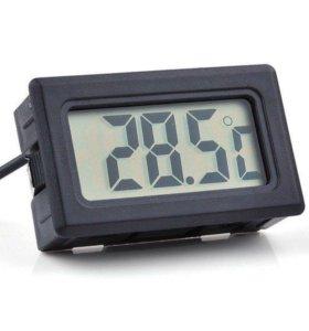 Электронный термометр с выносным датчиком 2 метра