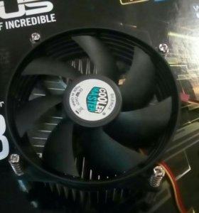 Охлаждение для процесора сокеты 1156,1155,150