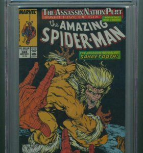 Amazing Spider-Man #324 CGC 9.6 White Pages (1989)