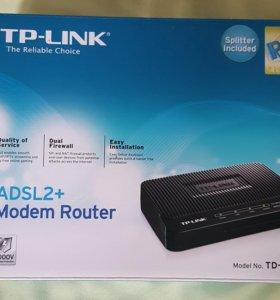 Роутер с модемом ADSL2+