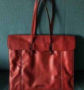 Красная сумка Mango