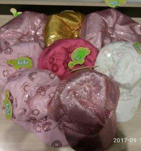 Детская беретка (теплая)