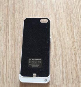 Чехол-аккумулятор DF iBattery-06 для iphone 5/5s