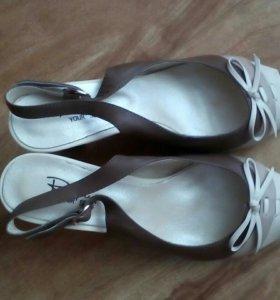 Новые туфли respect.37 размер,нат.кожа