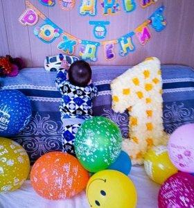 Цифра на день рождение малыша