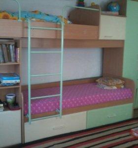 Детская кровать 2-ярусная