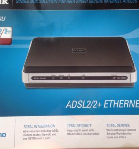 Adsl модем D-Link DSL-2500U