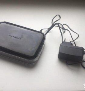 Wi-Fi беспроводной роутер NetGear WNR 1000