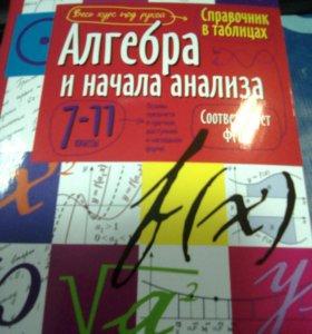 Справочник по алгебре 7-11 классы