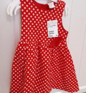 Платье новое, 86 размер