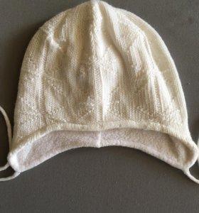 Детская шапка с флисом внутри
