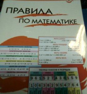 Справочник по математике для начальных классов